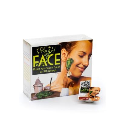 Скраб 'Fresh Face' для глубокой очистки сухой кожи, 72г, 24 порции