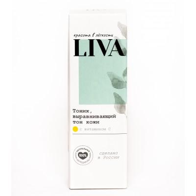 (Повреждена упаковка) Тоник, выравнивающий тон кожи с витамином С LIVA, 100 мл