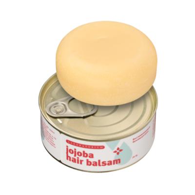 """Твердый восстанавливающий бальзам для волос """"JOJOBA HAIR BALSAM"""", 70 гр. Laboratorium"""
