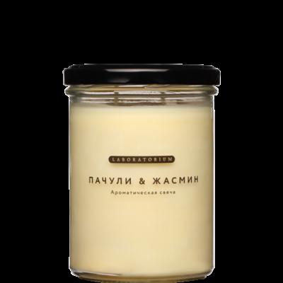 Ароматическая свеча Пачули-жасмин, 280мл