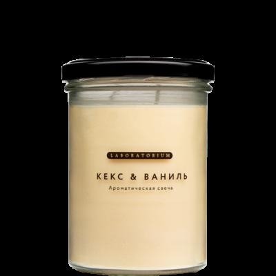 Ароматическая свеча Кекс и Ваниль, 280мл