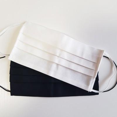 Маска повязка многоразовая, белая