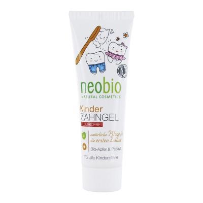 Зубная паста детская без фтора NeoBio, 50мл