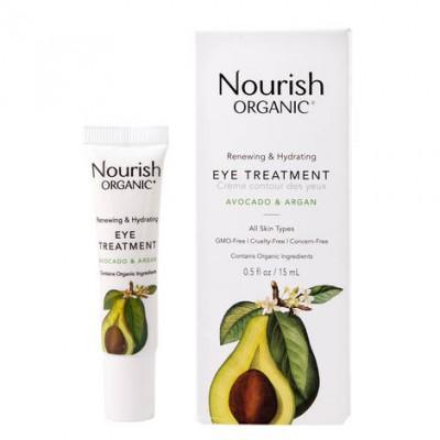 Крем для кожи вокруг глаз восстанавливающий 'Авокадо и арган' Nourish, 15мл
