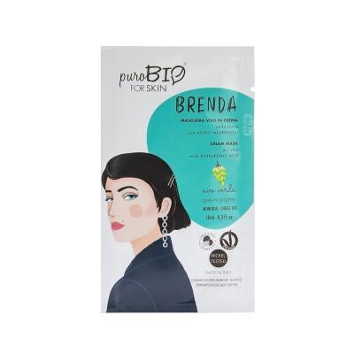 Маска кремовая PuroBio для сухой кожи Brenda Виноград, 10мл
