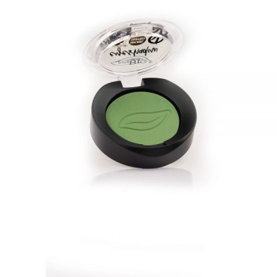 Тени для век PuroBio 17 зеленый луг, 2.5г