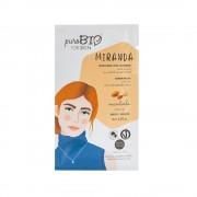 Маска кремовая PuroBio для жирной кожи Miranda Миндаль, 10мл