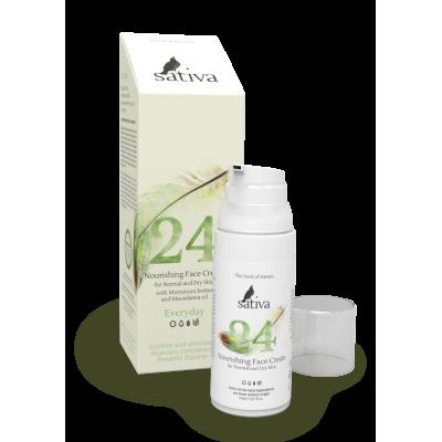 №24 Крем для лица питательный для сухого типа кожи, 50мл