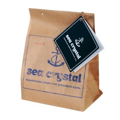 Соль морская крымская розовая, 2кг
