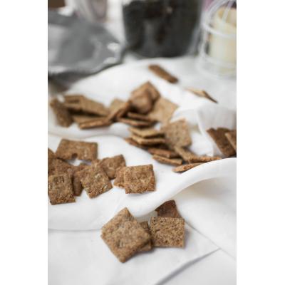Крекеры из пророщенного зерна на закваске с семечками, 200г