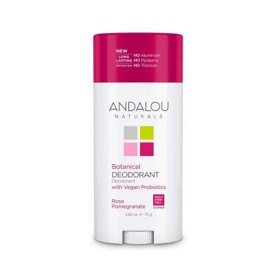 Дезодорант Роза-Гранат Andalou, 75г
