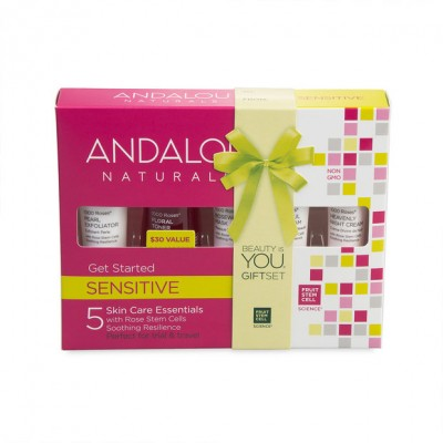 Набор ANDALU из 5 минипродуктов 'Комплексный уход за чувствительной кожей'