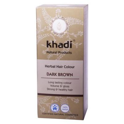 Краска для волос растительная 'Темно-коричневый', 100г