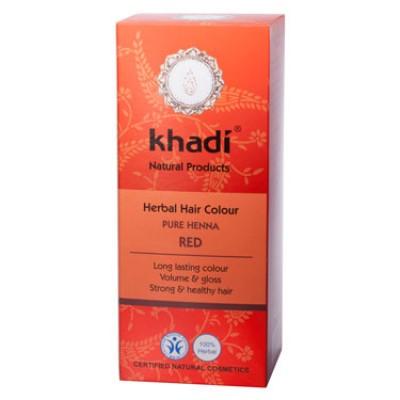 Краска для волос растительная 'Хна красная', 100г