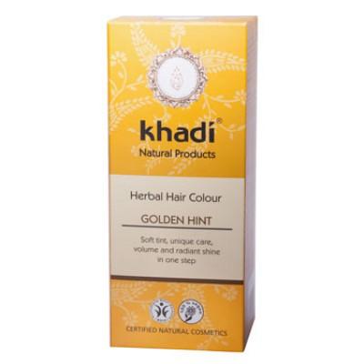Краска для волос растительная 'Золотистый оттенок', 100г