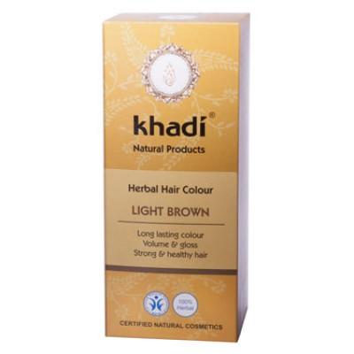 Краска для волос растительная 'Светло-коричневый', 100г