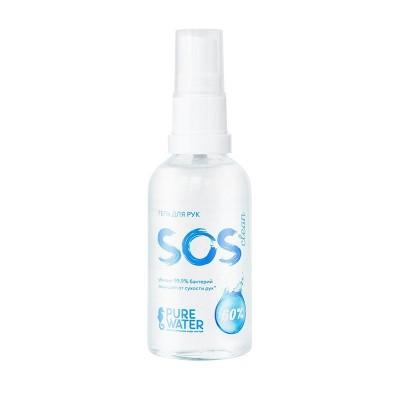Гель для рук SOS Clean 60% спирта, 50мл