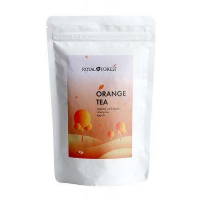Чай апельсиновый с корицей Royal Forest, 75 г