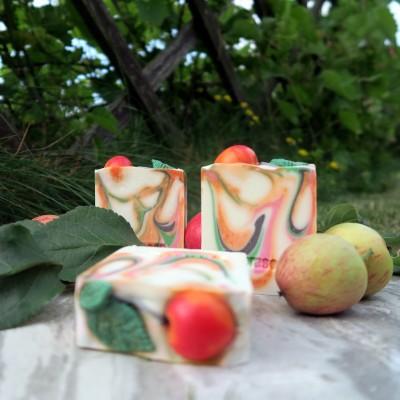 Мыло натуральное 'Райское яблочко', 120г